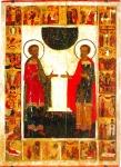 Икона святых Космы и Дамиана